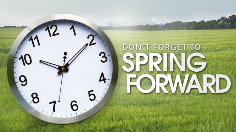27th of March, Time: Spring Forward!