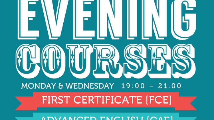 Evening Classes in September
