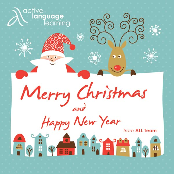 Merry Christmas and a Happy New Year 2017 - Active Language Learning