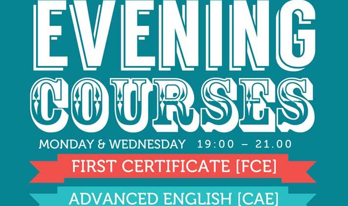 Evening English Classes for Au Pairs and Professionals